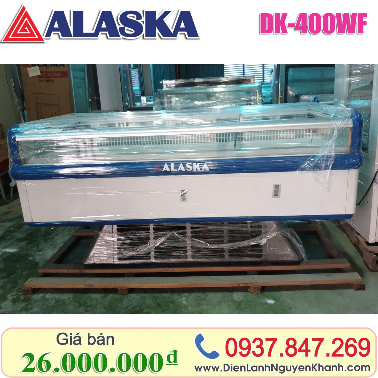 Tủ đông trưng bày siêu thị Alaska 2m DK-400WF