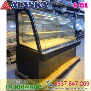 Tủ mát trưng bày bánh kem Alaska 1.5m G-15K