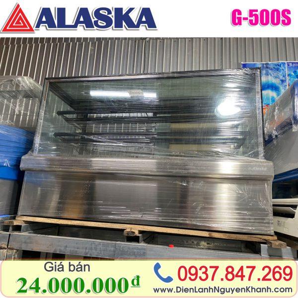 Tủ mát trưng bày bánh kem Alaska 1.5m G-500S