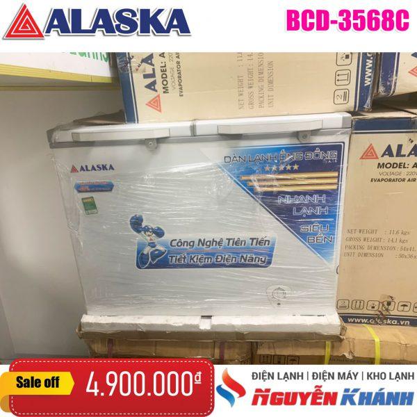 Tủ đông mát Alaska 350 lít BCD-3568C