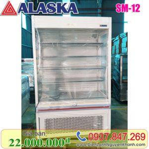 Tủ mát trưng bày siêu thị Alaska 1.2m SM-12