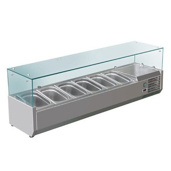 Tủ mát trưng bày salad F.E.D. VRX1500/380