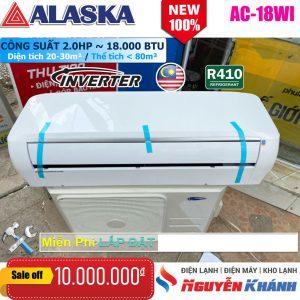 Máy lạnh Alaska Inverter AC-18WI (2.0Hp)