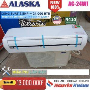 Máy lạnh Alaska Inverter AC-24WI (2.5Hp)