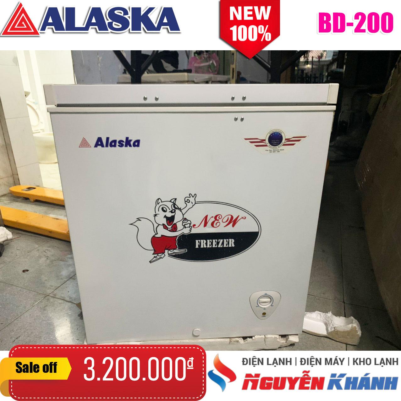 Tủ đông Alaska BD-200 200 lít