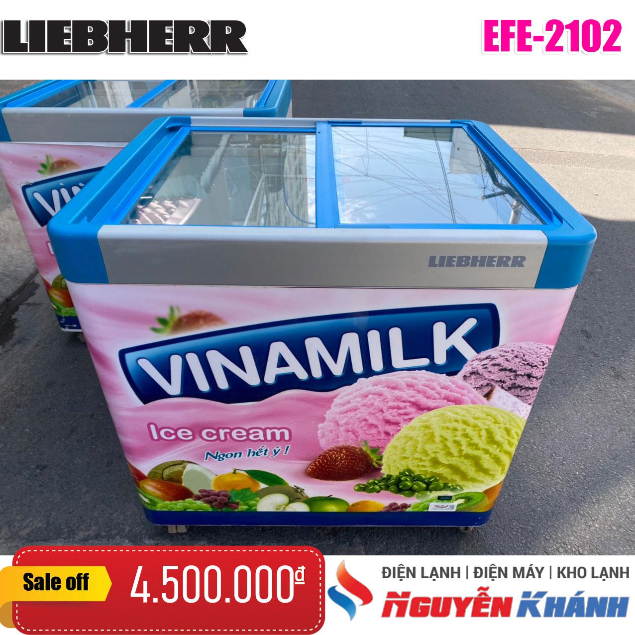 Tủ đông Liebherr EFE-2102 212 lít