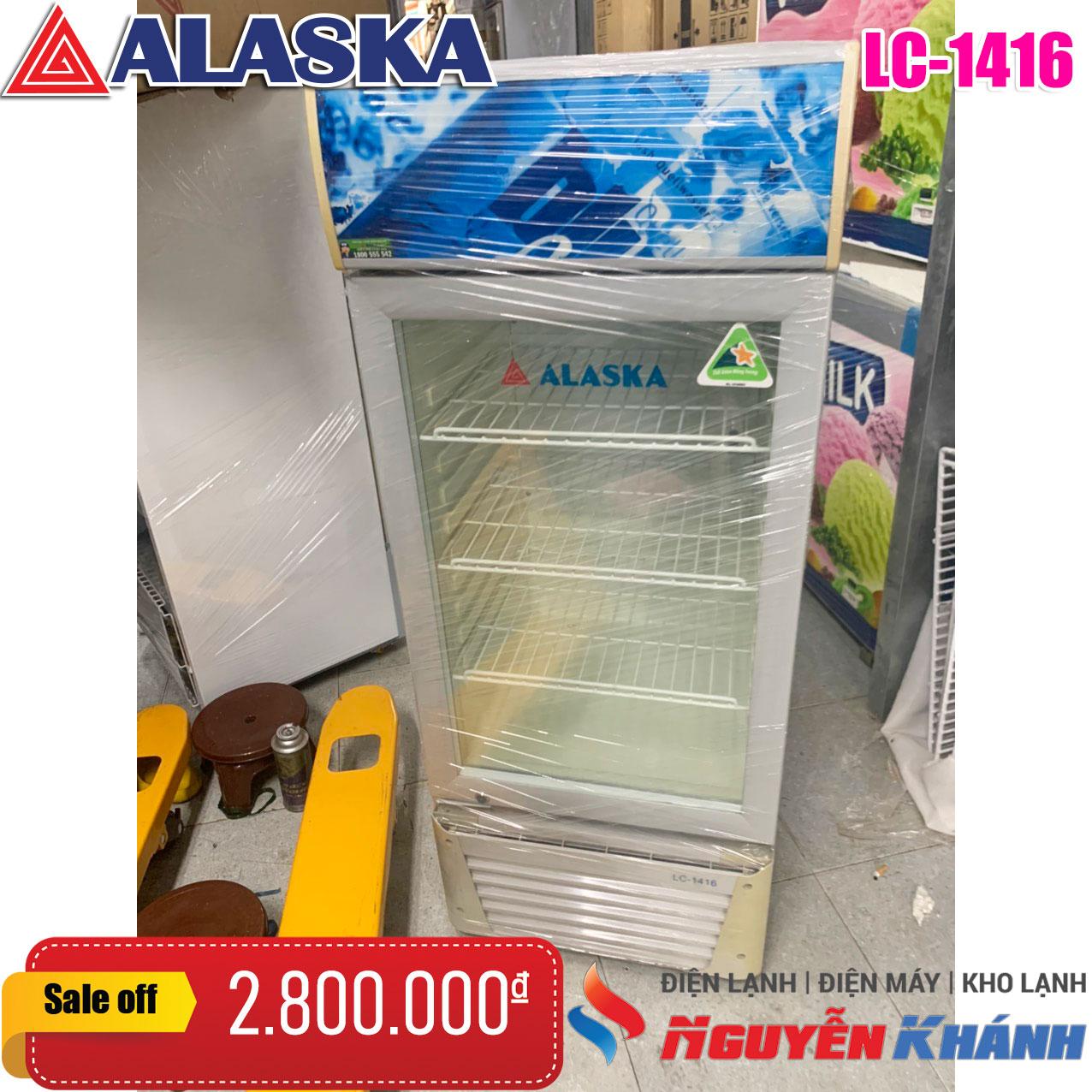Tủ mát Alaska LC-1416 140 lít