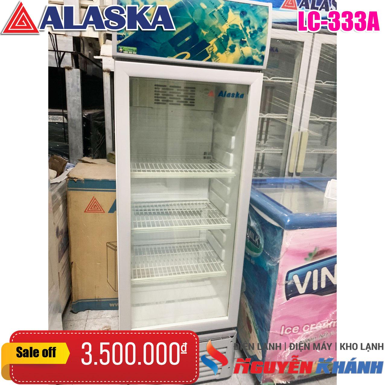 Tủ mát Alaska LC-333A 230 lít