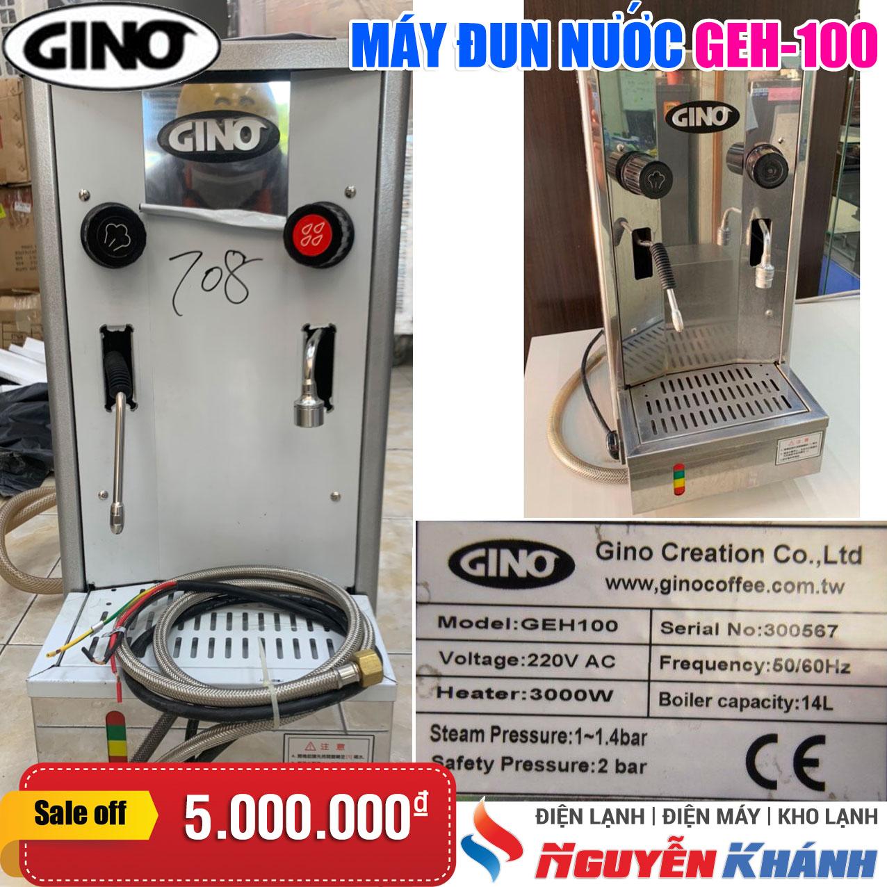 Máy đun nước nóng Gino GEH-100