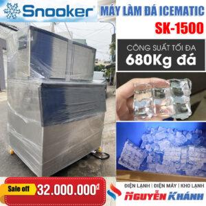 Máy làm đá viên Snooker SK-1500