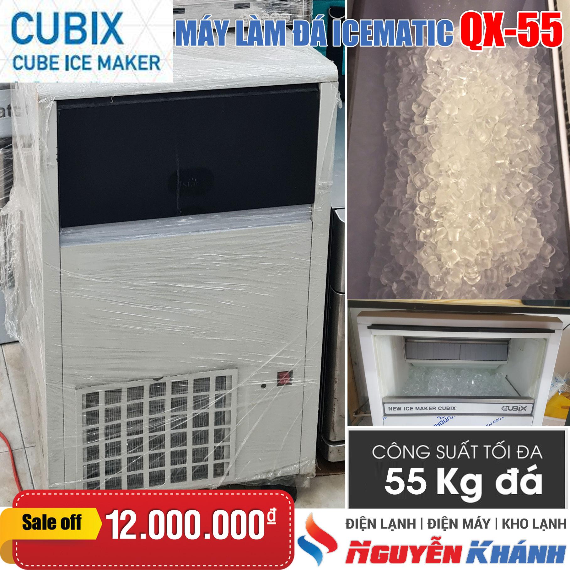Máy làm đá viên Cubix QX-55