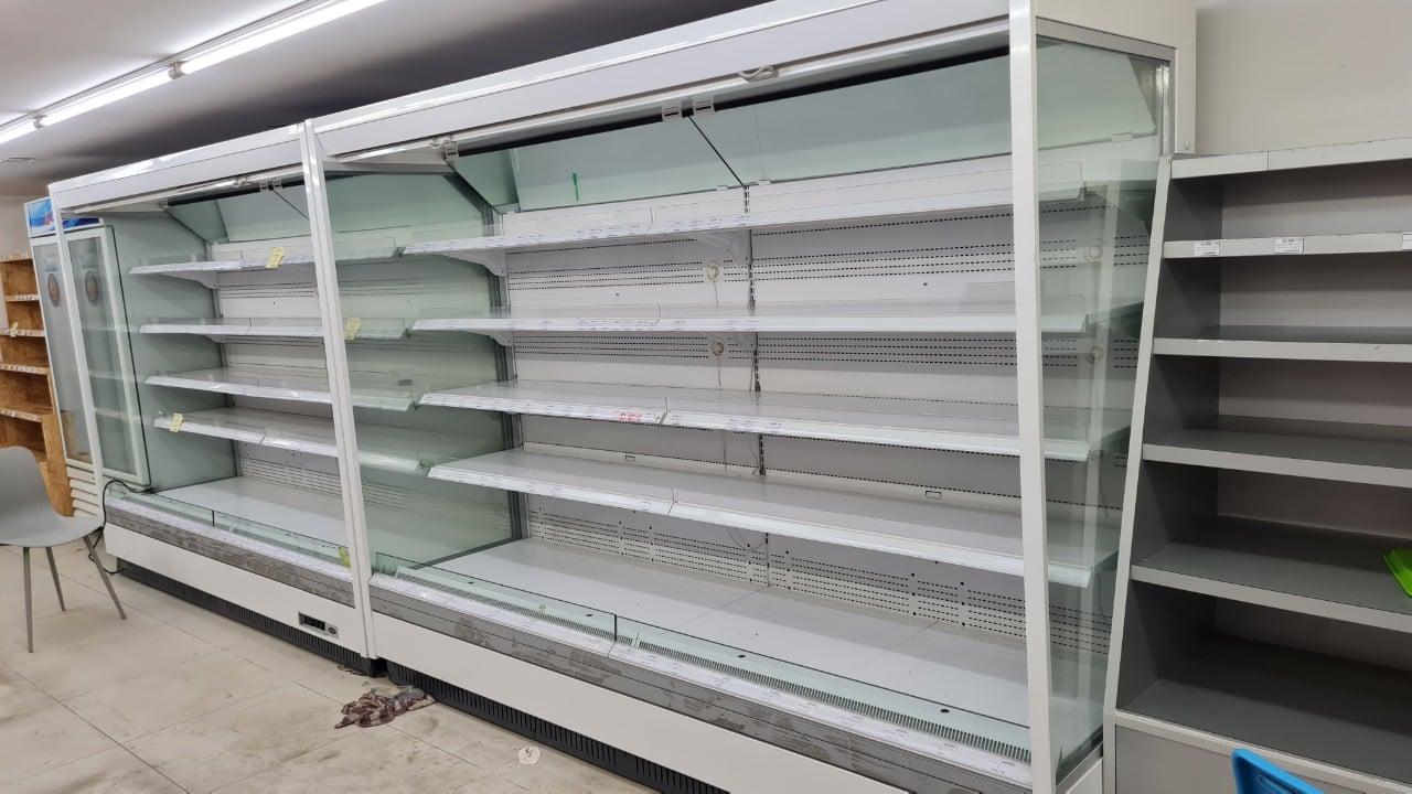 Thanh lý tủ mát siêu thị không cánh tận nơi TP.HCM