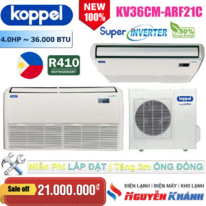 Máy lạnh áp trần Koppel KV36CM-ARF21C (4.0Hp)