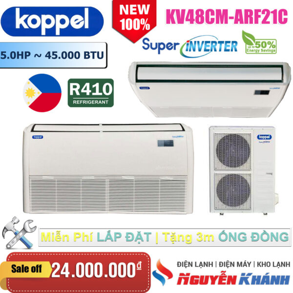 Máy lạnh áp trần Koppel KV48CM-ARF21C (5.0Hp)