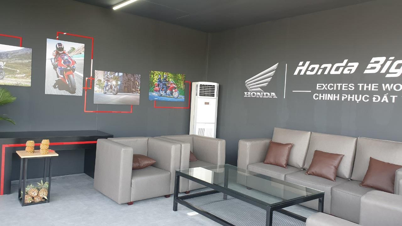Cho thuê máy lạnh tủ đứng tại sự kiện Honda Biker Day 2020