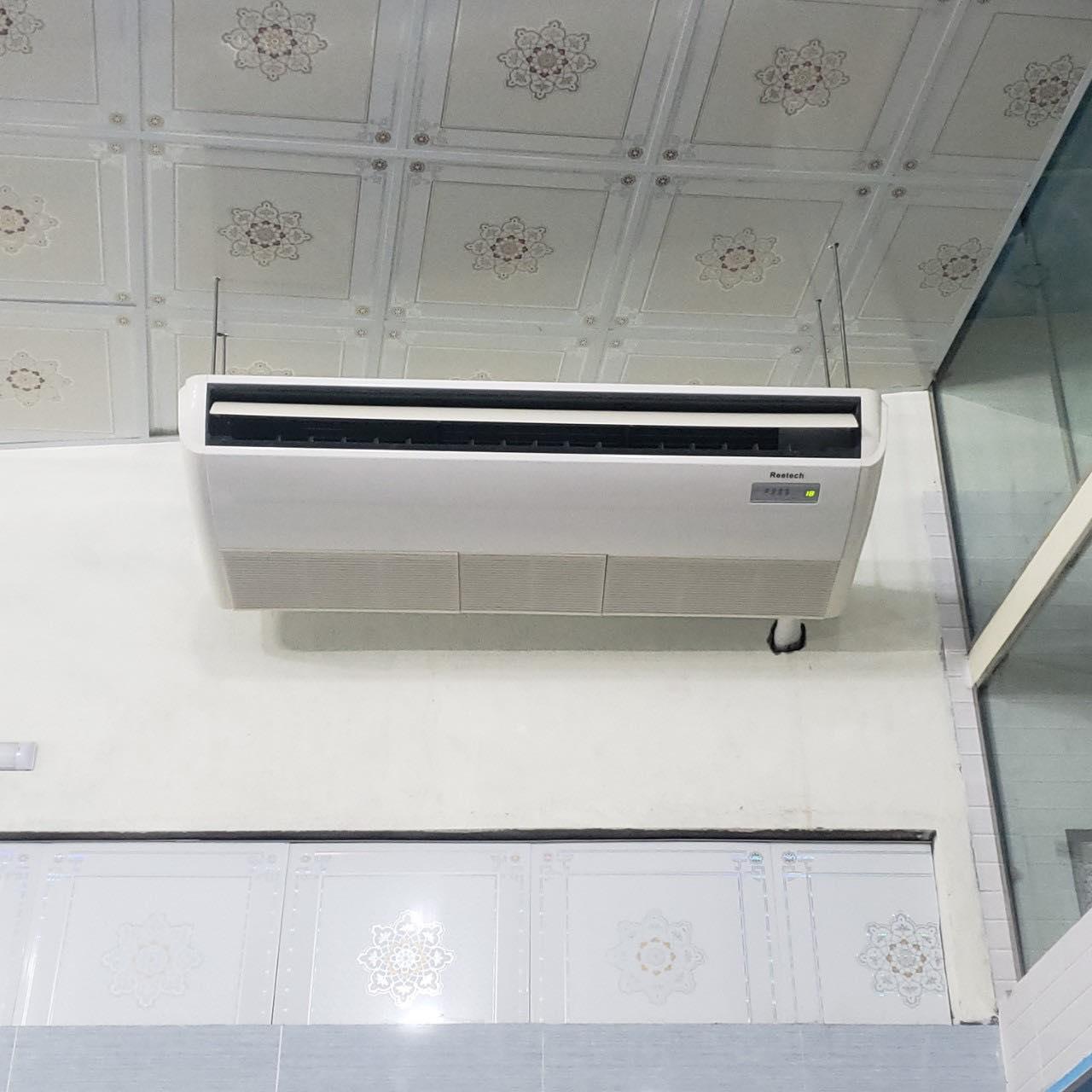 Lắp đặt máy lạnh áp trần Reetech nhà xưởng Đồng Nai