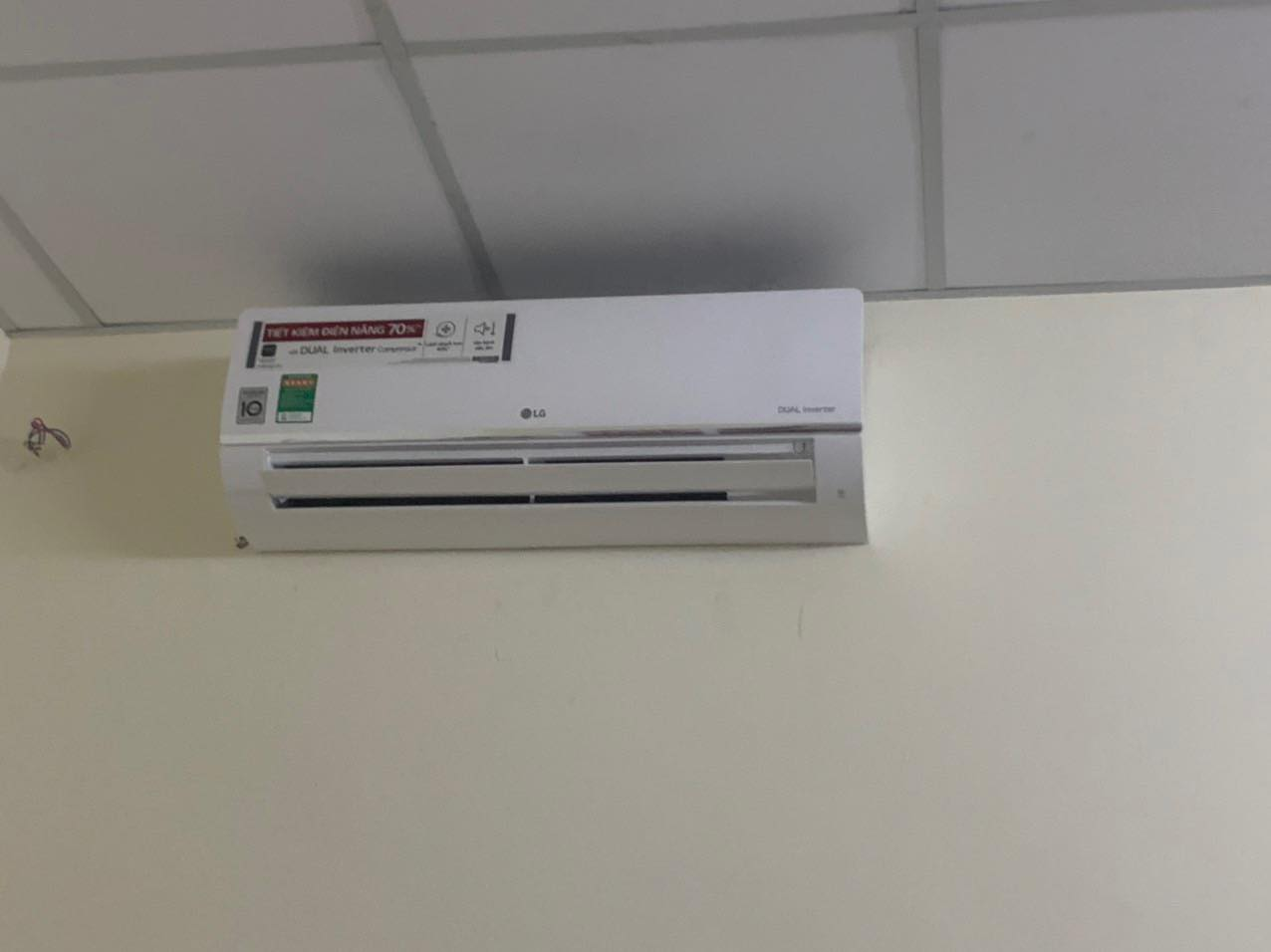 Lắp đặt máy lạnh LG chính hãng giá rẻ tại TP.HCM