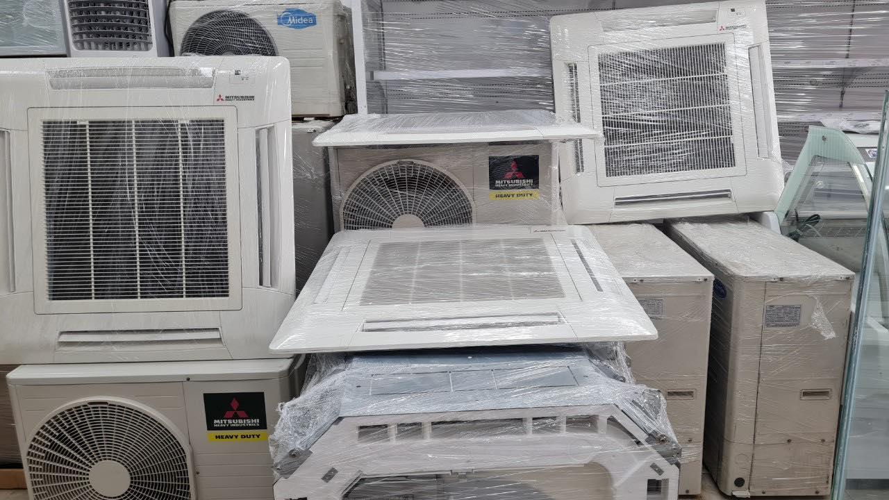 Thanh lý máy lạnh âm trần Mitsubishi Heavy