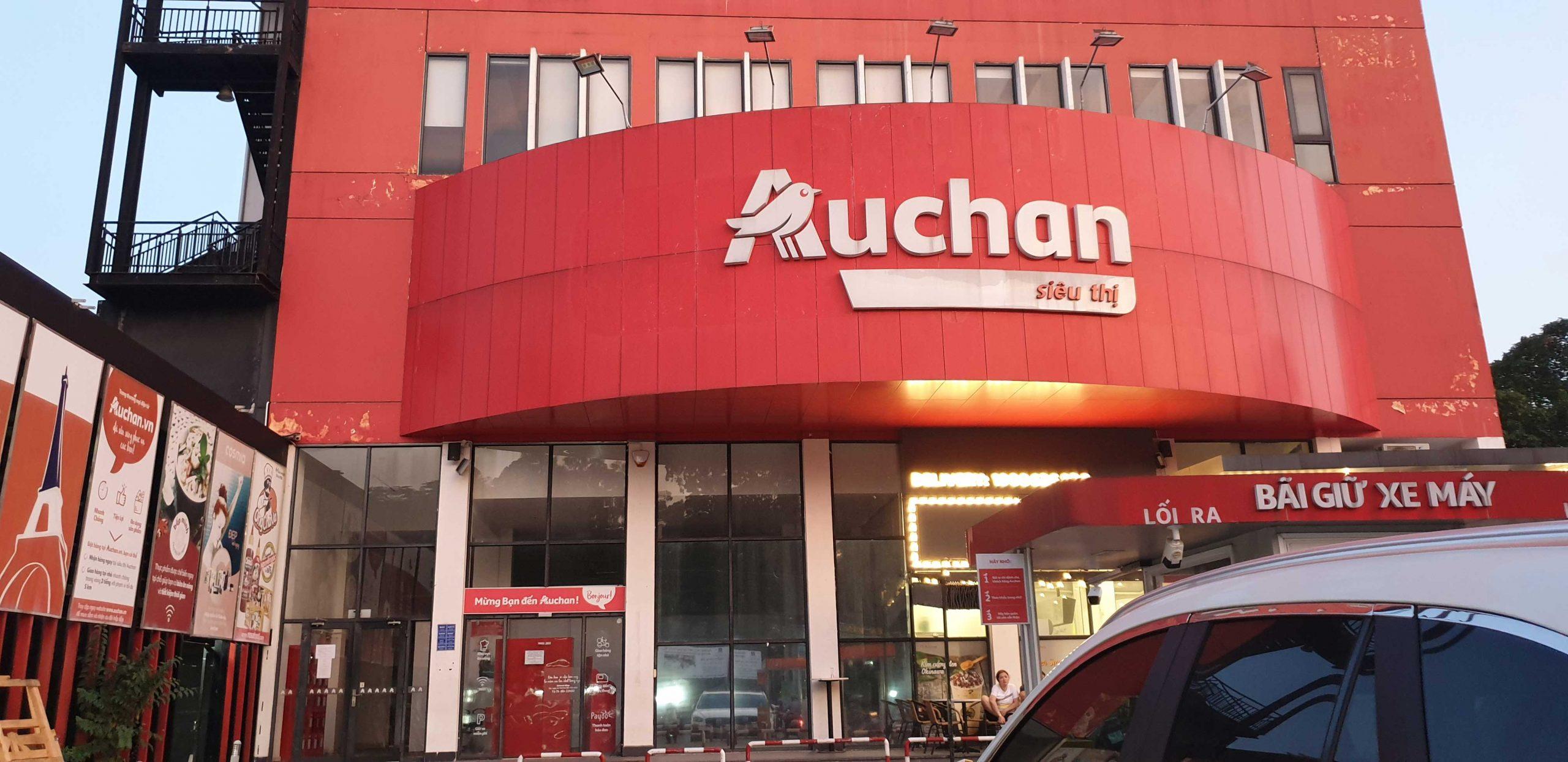 Thanh lý máy lạnh trung tâm siêu thị Auchan