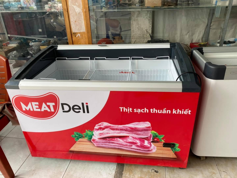 Thanh lý tủ đông kem Liebherr