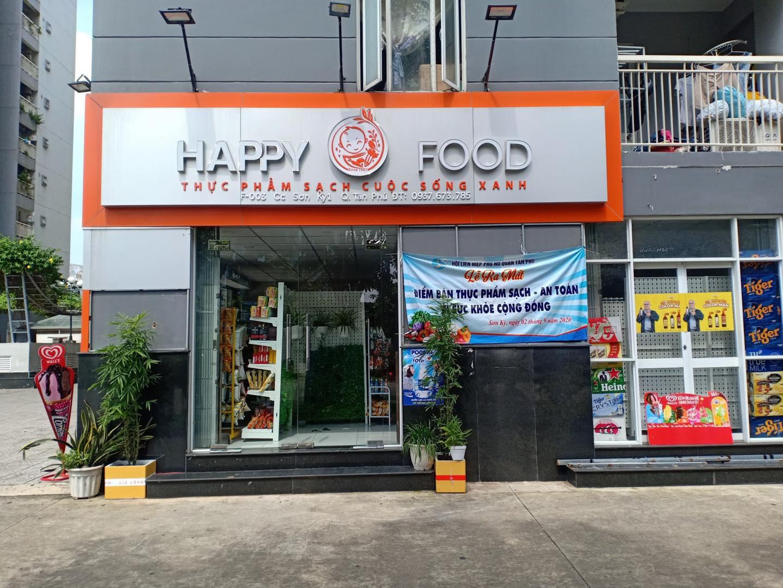 Thanh lý tủ mát siêu thị cho cửa hàng Happy Food Quận Tân Phú