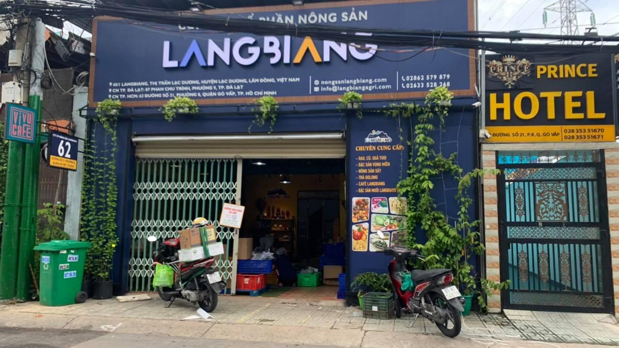 Tủ mát Alaska cung cấp cho cửa hàng Nông sản Langbiang