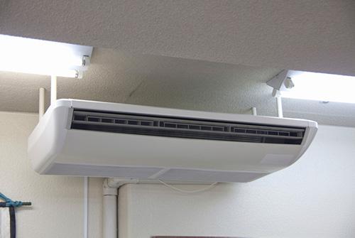 lắp đặt máy lạnh áp trần cho nhà xưởng, kho hàng